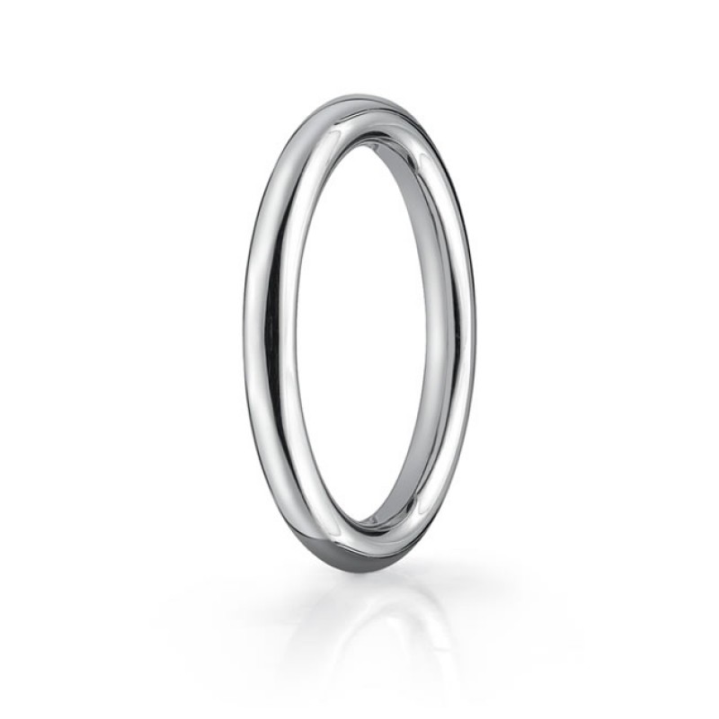 Polished Round Band