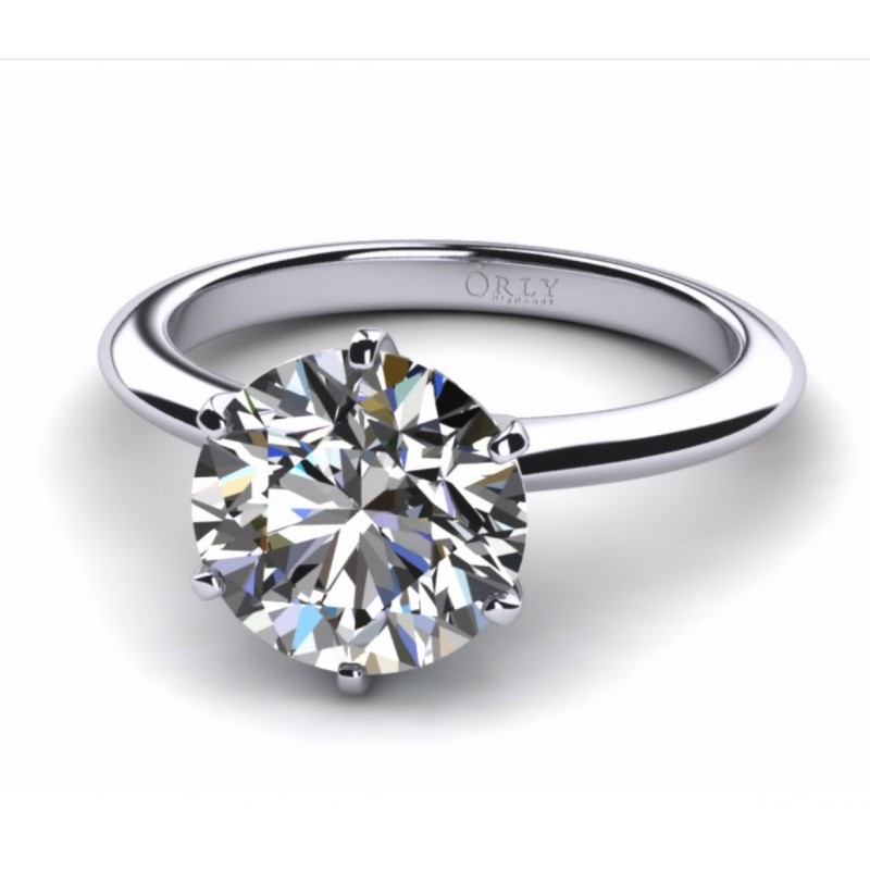 Round Brilliant Cut Diamond Solitaire 1.01 carats