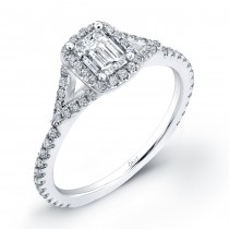Emerald Cut Diamond OrStar