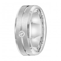 Tungsten Diamond Band