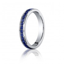 3.5mm Sapphire Eternity Band