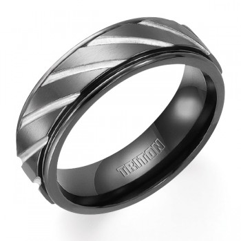 Black Tungsten Band