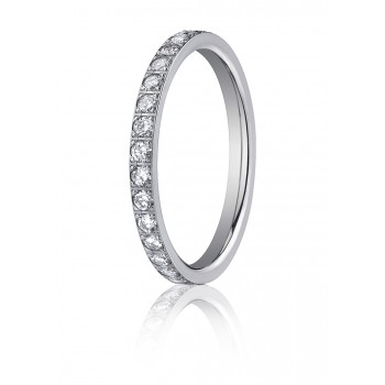 2mm Diamond Band