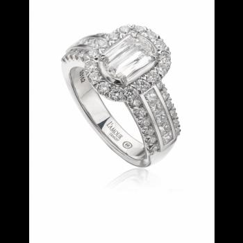 L'amour Diamond Ring 1.81 carats tw