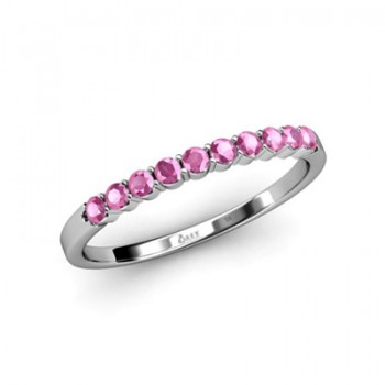 Pink Sapphires Band