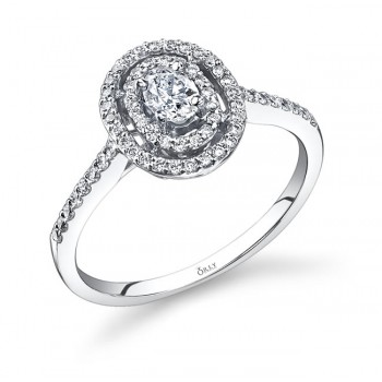 Oval Diamond Ring
